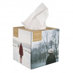Care & More large tissue box
