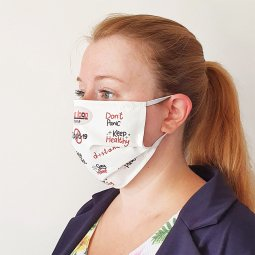 Care & More ONE reusable personalized face mask