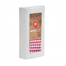 Care & More tissues in foil with sticker