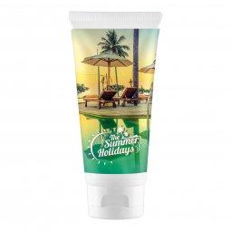 Care & More zonnebrandcrème spf50 100 ml rondom
