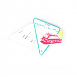 DEO contour luggage tag