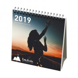 Desk-mate® classic monthly desktop calendar soft cover