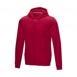 Elevate NXT Ruby GRS recycled hoodie with zipper
