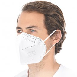 FFP2 NR respirator mask with earloops