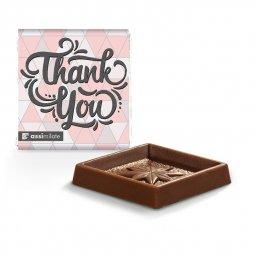 Heidel square chocolate bar