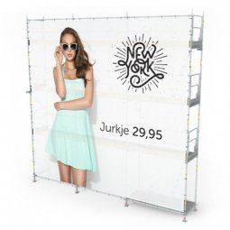 Large printed banners