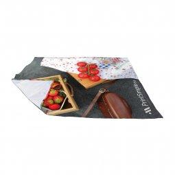 Leza large picnic blanket, printed all-over
