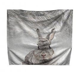 Leza medium advertising blanket, printed all-over