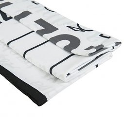 Leza small advertising blanket, printed all-over