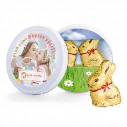 Lindt Easter tin team