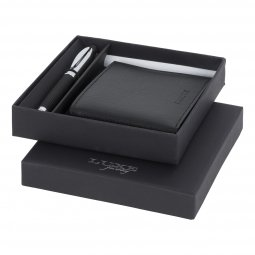 Luxe Baritone pen gift set, black ink