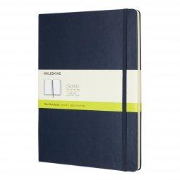 Moleskine Classic A4 hard cover notebook, plain