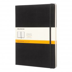 Moleskine Classic A4 hard cover notebook, ruled