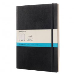 Moleskine Classic A4 soft cover notitieboek, gestipt