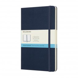 Moleskine Classic A5 hard cover notebook, dotted