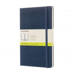 Moleskine Classic A5 hard cover notebook, plain