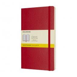 Moleskine Classic A5 soft cover notebook, squared