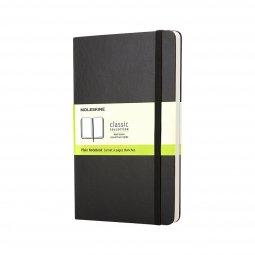 Moleskine Classic A6 hard cover notebook, plain
