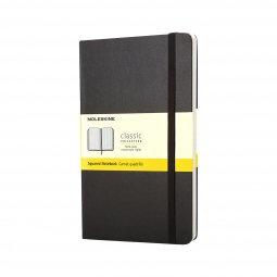 Moleskine Classic A6 hard cover notebook, squared