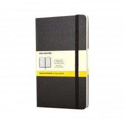Moleskine Classic A6 hard cover notitieboek, geruit