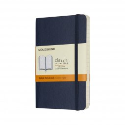 Moleskine Classic A6 soft cover notebook, ruled