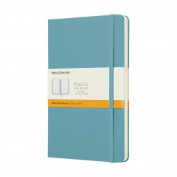 Moleskine Classic L hard cover notebook, ruled