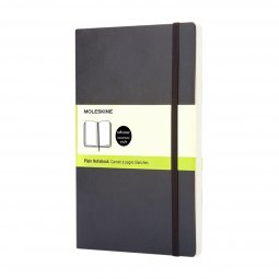 Moleskine Classic L soft cover notitieboek, blanco