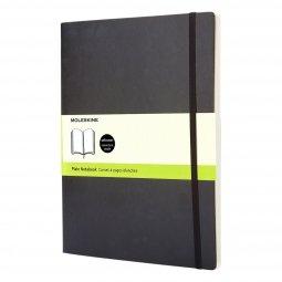 Moleskine Classic XL soft cover notebook, plain