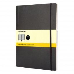 Moleskine Classic XL soft cover notebook, squared