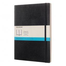 Moleskine Classic XL soft cover notitieboek, gestipt
