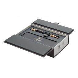 Parker Duofold Premium ballpoint pen, black ink