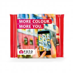 Ritter SPORT with promotional sleeve