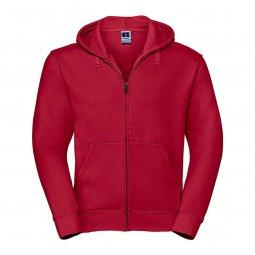 Russell Authentic hoodie met rits