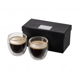 Seasons Boda 2-piece glass espresso cup set