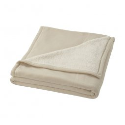 Seasons Springwood sherpa fleece plaid blanket