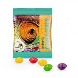 Skittles snoepjes mini zakje