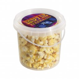Snacks & More bucket popcorn