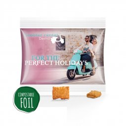 Snacks & More snack midi bag, compostable foil