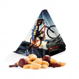 Snacks & More tetrahedron snacks