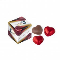 Sweets & More doosje Compli'mints of chocolade hartjes