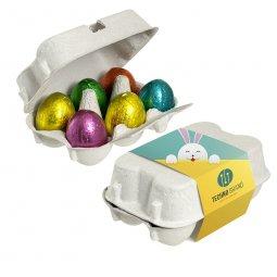 Sweets & More sixpack paaseitjes met wikkel