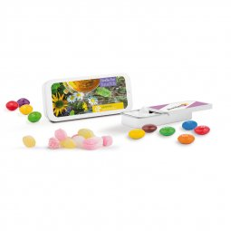 Sweets & More sliding tin with sweets, Skittles or M&M's