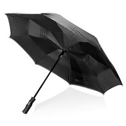 "Swiss Peak 23"" reversible automatic umbrella"