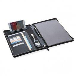 Swiss Peak Heritage A4 writing case with zipper
