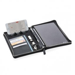 Swiss Peak Heritage A5 writing case with zipper
