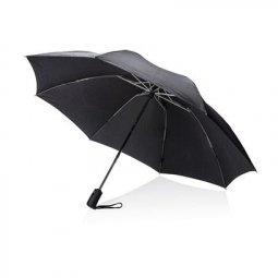"Swiss Peak Pocket 23"" reversible automatic umbrella"