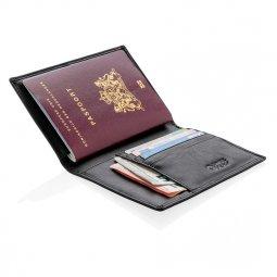 Swiss Peak RFID anti-skimming passport holder