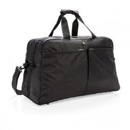 Swiss Peak RFID duffelbag with suitcase opening