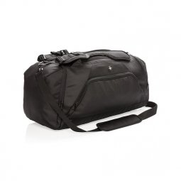 Swiss Peak RFID sports duffel & backpack
