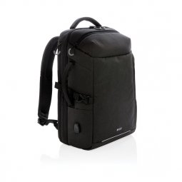 "Swiss Peak XXL 17"" travel backpack with RFID and USB"
